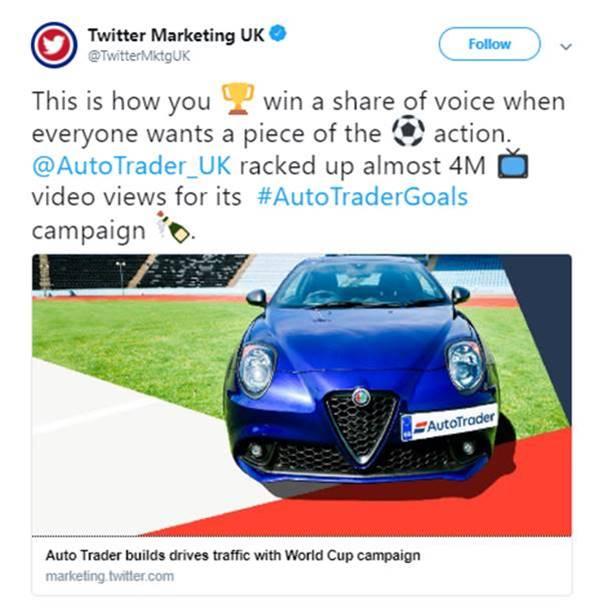 Twitter Auto Trader Goals